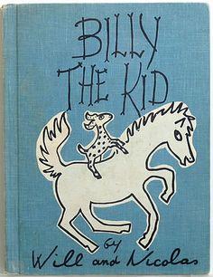 BILLY THE KID, 1961, by WILL & NICOLAS (Will & Nicholas)