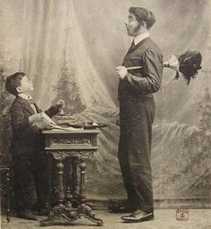 Antique French Postcard  The Childs Butler by ChicEtChoc on Etsy, $4.00