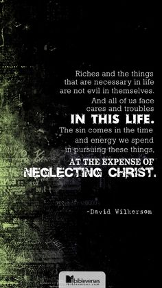 LOVE me some David Wilkerson! He was a man of God that I have so much respect for.