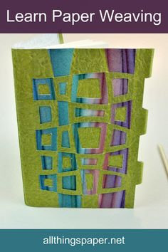 How on earth is this intriguing technique done? Paper artist Helen Hiebert shows how via Paper Weaving, her online class that launches July Earlybird pricing through June Paper Weaving, Weaving Art, Loom Weaving, Owl Punch Cards, Fabric Crafts, Paper Crafts, Doily Patterns, Dress Patterns, Weaving For Kids