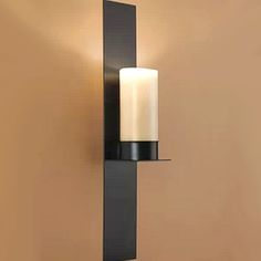 kevin reilly-Rum Antique Iron and Candle Wall Sconce in Baking Finish 2 - HK Phoenix Lighting