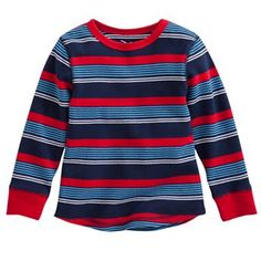 Jumping Beans® Striped Thermal Top - Toddler
