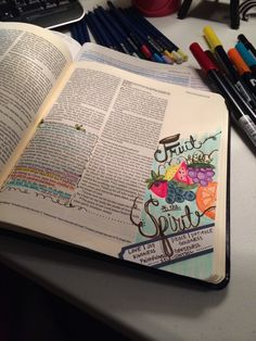 """This is one of my favorite parts of scripture and whenever I think about it I think of my girls singing """"The fruit of the Spirit's not a watermelon... kiwi..."""" and then my husband pretending the pl..."""