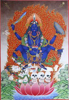 Kali dakini. Nepal.