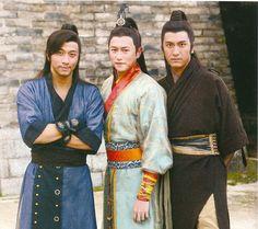 on location : Ron Ng ( 吴卓羲 ) - Sammul Chan ( 陈键锋 ) - Kenneth Ma ( 马国明 ) TVB. Hong Kong male celebs.  Chinese TVB series | Hong Kong celebrity news