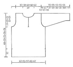 Túnica DROPS em Cotton Viscose e Vivaldi Modelo gratuito de DROPS Design.