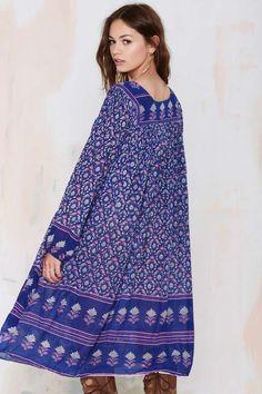 Vintage Ananda Floral Dress - Dresses