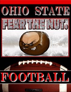 OHIO STATE FEAR THE NUT, FOOTBALL-BY Bucks7T2