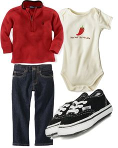 """infant boy outfit"" by savannahmarshall on Polyvore"