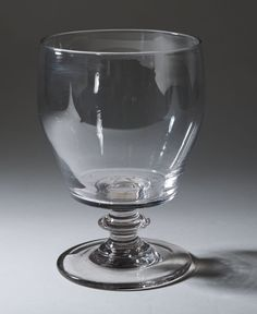 Antique Georgian Large Glass Serving Rummer with Ogee Bowl (Code 0147)