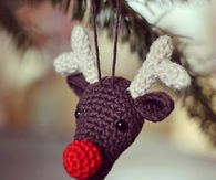 Rudolph Red Nose Reindeer Crochet