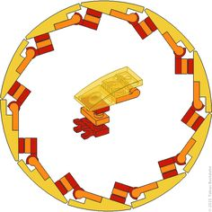 Decagon-Kreis Mehr
