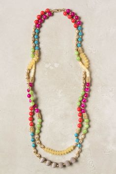 Mixed Spectra Necklace - Anthropologie.com