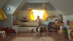 """Weetabix - """"Dancer"""" by DANIELS. We made a commercial for Weetabix Chocolate Spoonsize."""