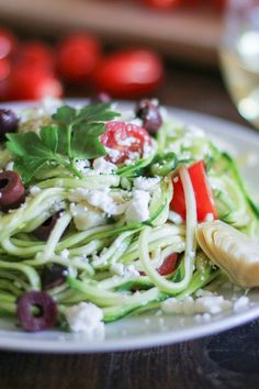 Mediterranean Zucchini Noodle Pasta is fresh, flavorful, and healthful – perfect for any time of year and easy to prepare in less than 30 minutes! Do you ever want to put a meal on repeat and…