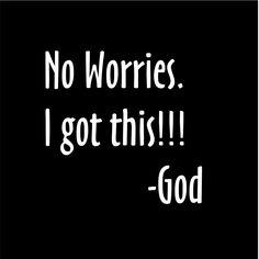 Thank goodness! =)