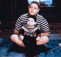 Pugsley and Pubert from 'Addams Family Values'.