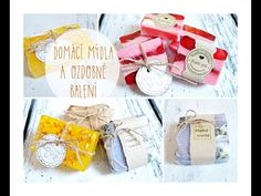 Výroba domácího mýdla a ozdobné balení/ diy homemade soap, wrapping soap Home Made Soap, Wraps, Gift Wrapping, Place Card Holders, Hacks, Homemade, Youtube, Zero Waste, Instagram