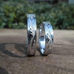Photo of Snubní prsteny Baron - Ohrazenice, Czech Republic. Snubní prsteny Baron Bílé zlato a rytina.