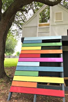 The DIY Projects I'm using to build this Outdoor Kids Playhouse. Here's a sneak peek at my big DIY Kid's Playhouse build. With lots of DIY videos and photos to help you Build a Kids Playhouse from a Shed. Diy Playhouse, Playhouse Outdoor, Outdoor Play, Indoor Outdoor, Wood Home Decor, Diy Home Decor, Decor Crafts, Diy Exterior Trim, Woodworking Projects Diy