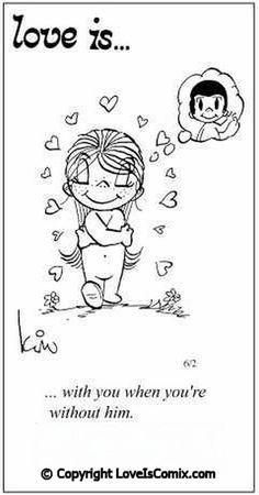 Love Is Cartoon 1970   Strawberry Street Swing
