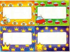 Etiqueta - infantil - preschool - label Symbols, Peace, Logos, Kids Labels, Beginning Of Year, Schools, Free Printable Labels, Coat Racks, Preschool