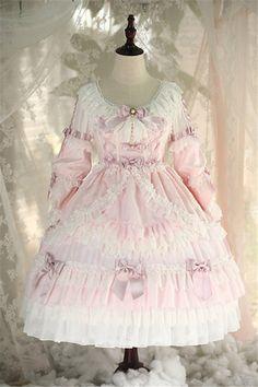 My-Lolita-Dress Official Harajuku Fashion, Kawaii Fashion, Lolita Fashion, Cute Fashion, Girl Fashion, Fashion Outfits, Fashion Design, Frocks For Girls, Girls Dresses