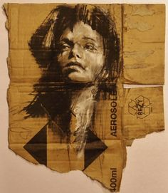 """A small preparatory sketch for a larger drawing made for the upcoming show in Madrid. Kunst Inspo, Art Inspo, Art And Illustration, Abstract Drawings, Art Drawings, Newspaper Collage, Clown Paintings, Charcoal Art, Charcoal Drawing"