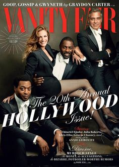 Vanity Fair's Hollywood Issue Is Here, and It's Spectacular - IDRIS!