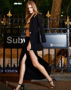 """Duchess Dior: """"Lady's Night"""" Marloes Horst by Arthur Elgort for ELLE France June 2015"""