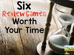 Teaching In The Fast Lane: Six Review Games Worth Your time