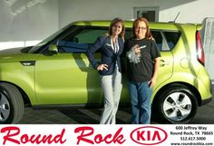 Congratulations to Judy Balderas on your #Kia #Soul purchase from Kelly  Cameron at Round Rock Kia! #NewCarSmell