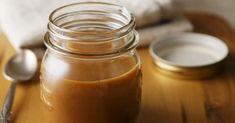Recette de Sauce caramel sans beurre à la crème de coco vanillée. Facile et rapide à réaliser, goûteuse et diététique.