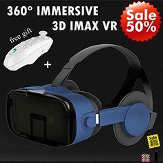 44ab6b27394b 3D Virtual Reality Headset VR Goggles