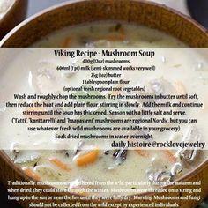 Medieval Recipes, Ancient Recipes, Vikings, Nordic Diet, Viking Food, Soup Recipes, Cooking Recipes, Cooking Fish, Gastronomia