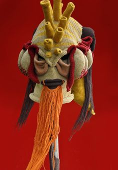 I want to be a strange creature? It's a knitting recommend this mask if it's the case