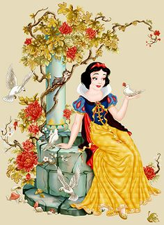 the disney princess: Snow White