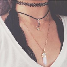 charm chokers #forever21
