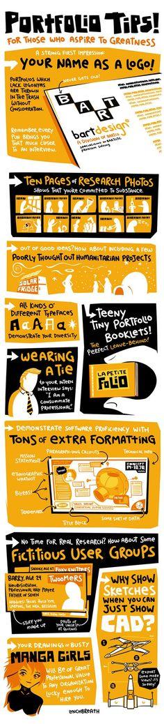 Portfolio Tips...