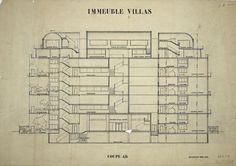 Immeubles-villas / Le Corbusier Architect , Bordeaux ,1925
