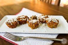 Pumpkin Baked Oatmeal Bites — Kath Eats Real Food