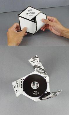 Papier Design packaging box black 28 ideas How to Buy Used or Surplus Circuit Breakers Artic Cd Cover Design, Cd Design, Leaflet Design, Book Design, Print Design, Design Ideas, Cd Packaging, Packaging Design, Branding Design