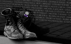 Vietnam Veterans Wall in DC.  Always chokes you up.