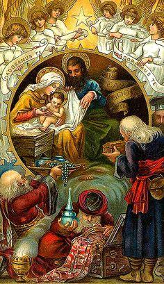 Znalezione obrazy dla zapytania old christmas