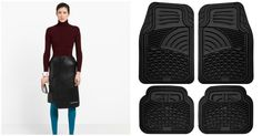 Balenciaga Sells Leather Skirt That Resembles a Car Mat
