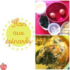 BB mange bio: Flan aux épinards