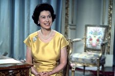After 1960, the introduction of colour to television screens favoured such choices as the silk canary-yellow dress of 1967, and the Queen pre-recorded her Christmas message instead of delivering it live. This decade of speeches focused on the need for the world to strive for peace and understanding. In 1969, she chose not to broadcast her message, but following public outcry, the tradition was reinstated in 1970.