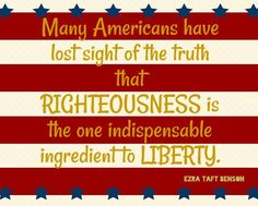 10 Great LDS Quotes about America and Freedom   LDS Daily