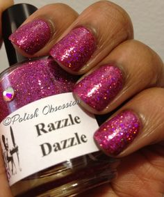 Polish Obsession: Girly Bits - Razzle Dazzle