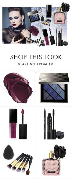 """""""Beauty**"""" by ruzi-78 ❤ liked on Polyvore featuring beauty, Burberry, Smashbox, Rodial and Victoria's Secret"""